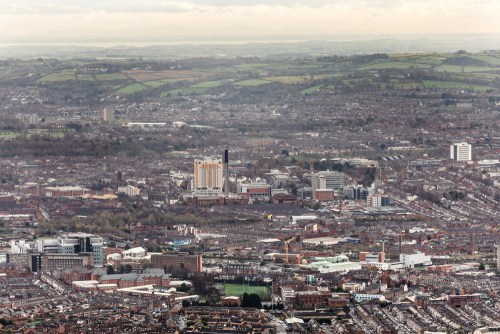 Belfast-city-hospital-from-cave-hill
